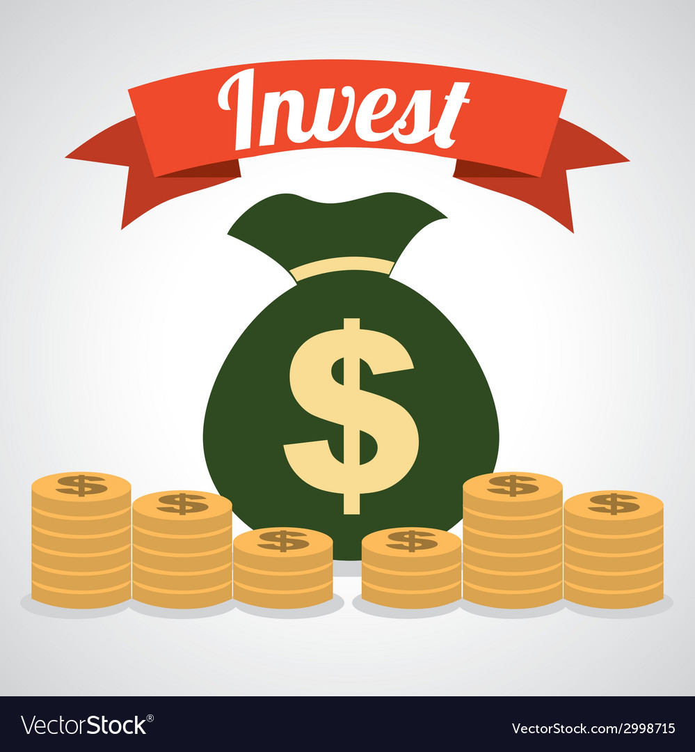 Invest design vector | Price: 1 Credit (USD $1)