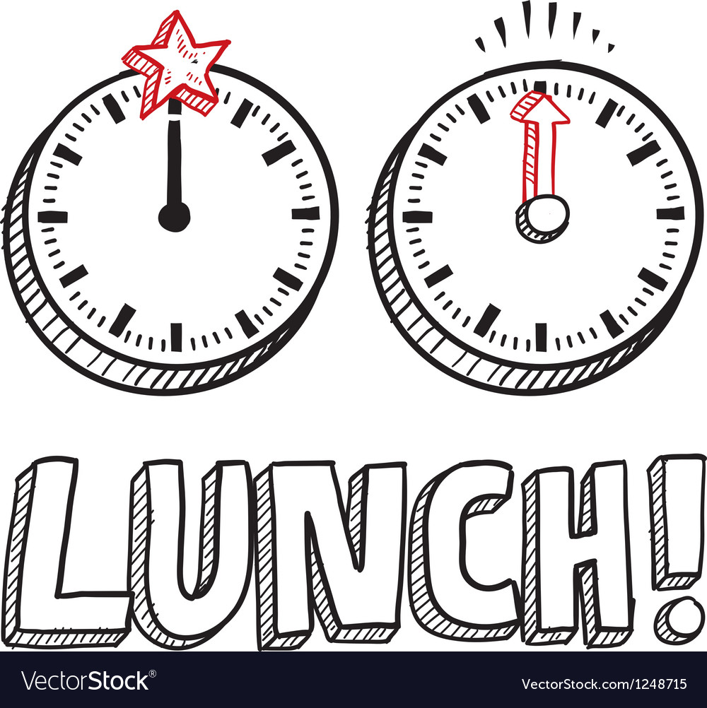 Lunch vector | Price: 1 Credit (USD $1)
