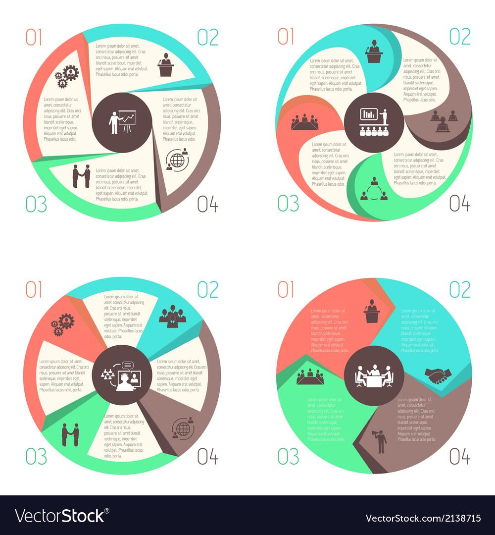 Meet people online infographic pictograms set vector | Price: 1 Credit (USD $1)