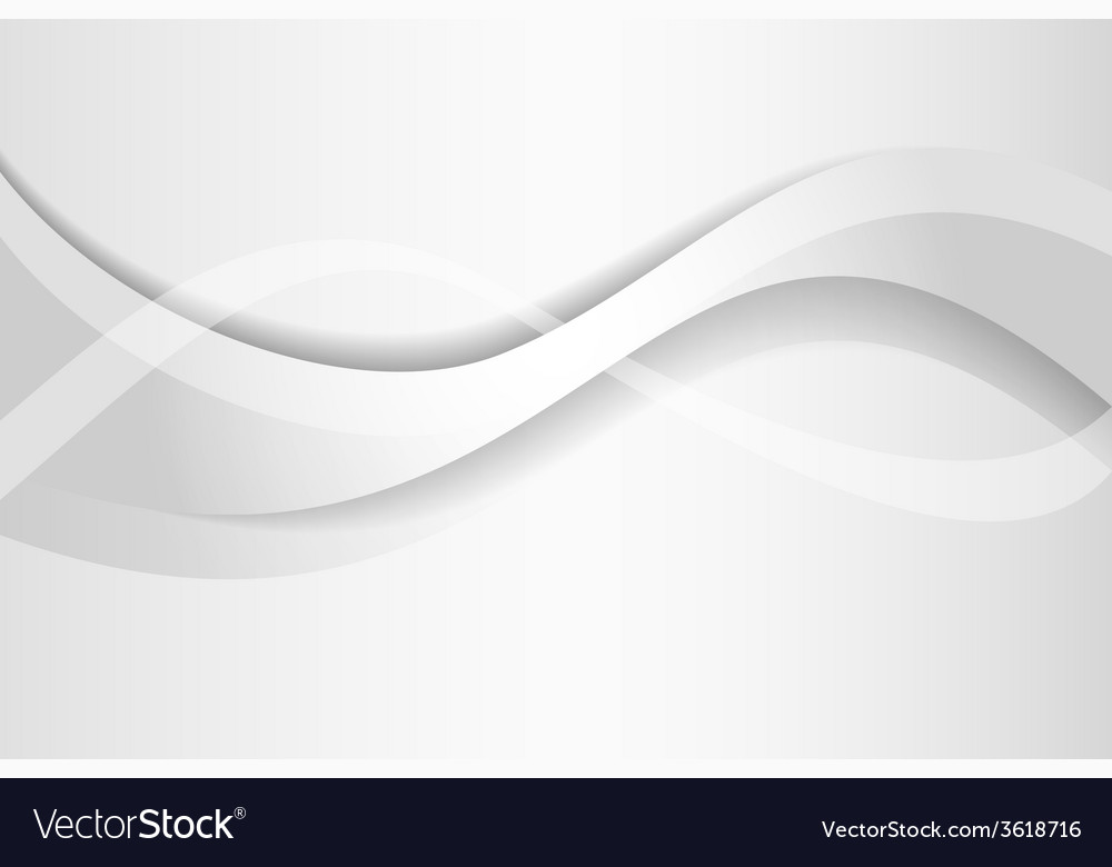 Abstract monochrome wave background design vector | Price: 1 Credit (USD $1)