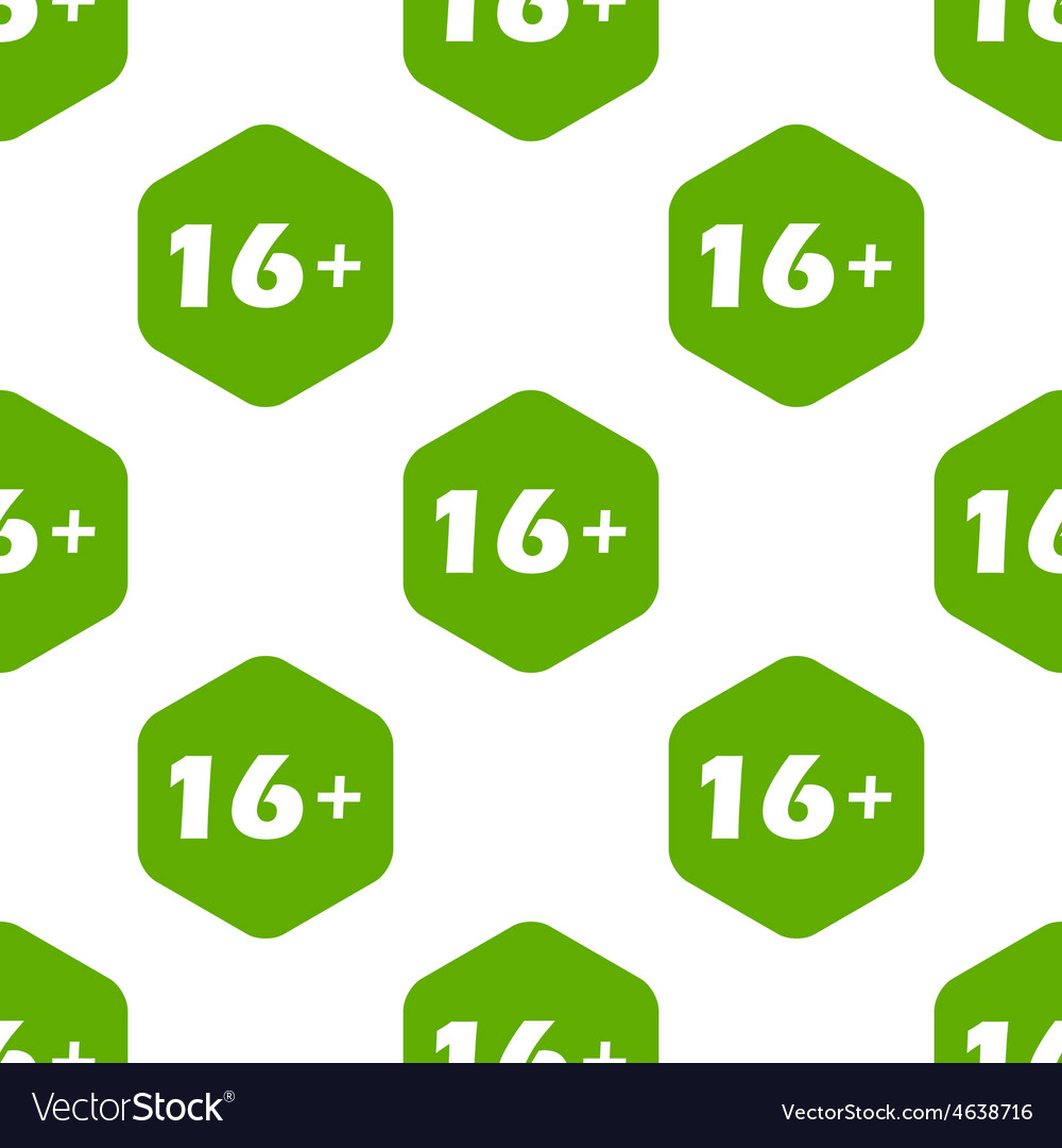 Age restriction pattern vector | Price: 1 Credit (USD $1)