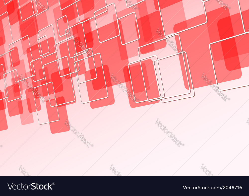 Red tile fly abstract background vector | Price: 1 Credit (USD $1)