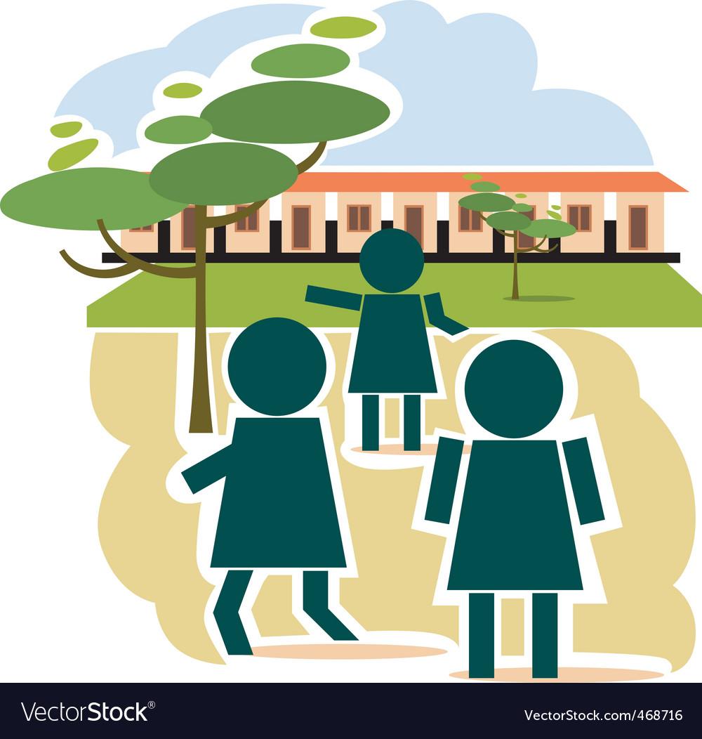 School place vector   Price: 1 Credit (USD $1)