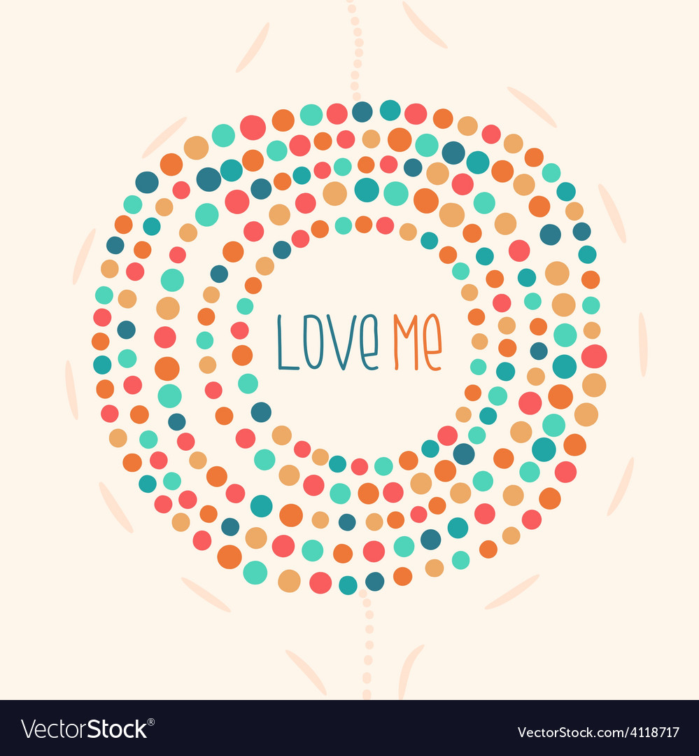 Background color pastel drawing dot point vector | Price: 1 Credit (USD $1)