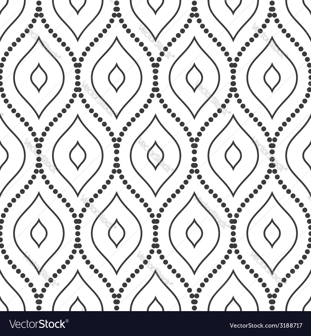Geometric modern seamless pattern vector | Price: 1 Credit (USD $1)
