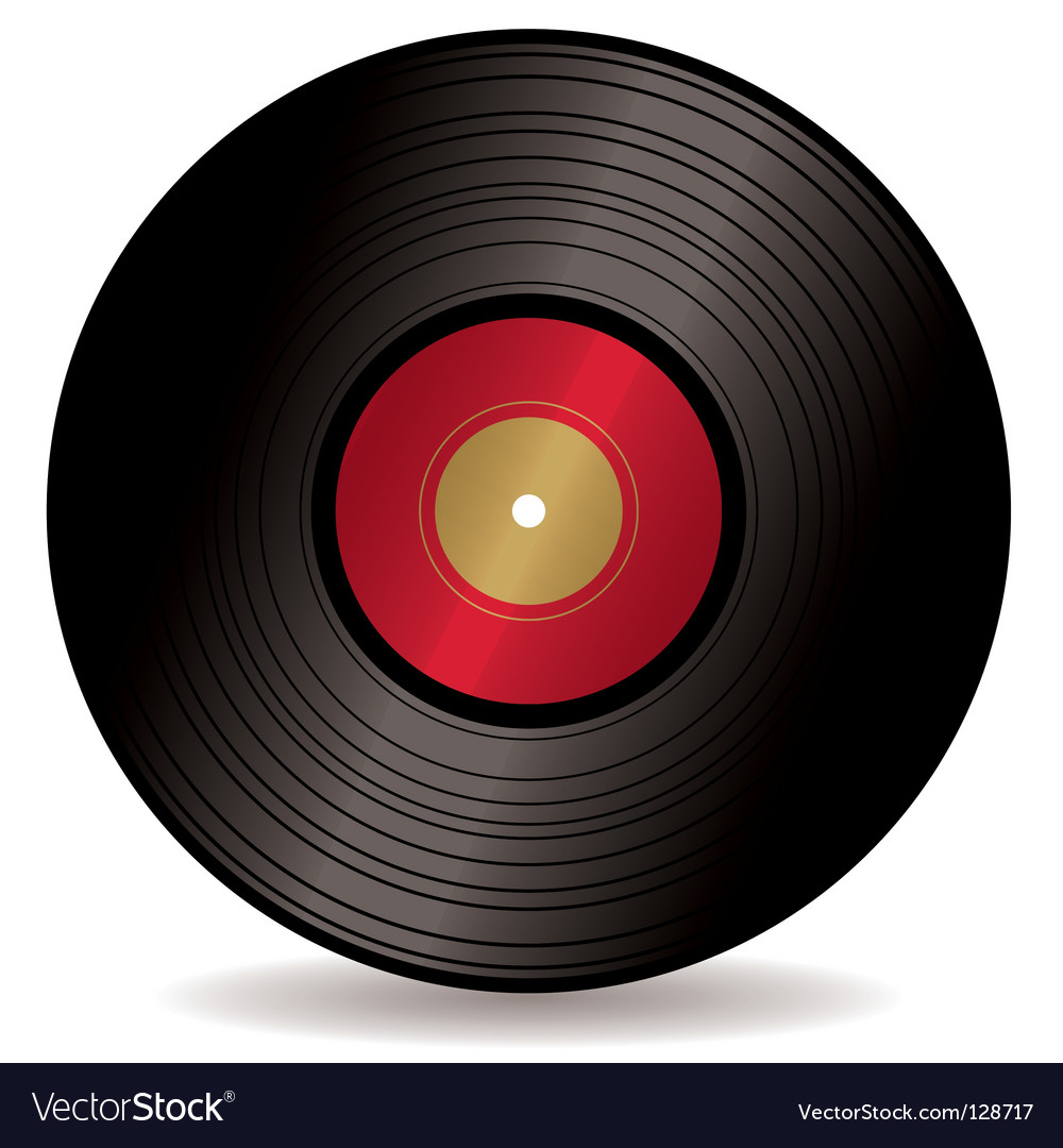 Lp record album vector | Price: 1 Credit (USD $1)
