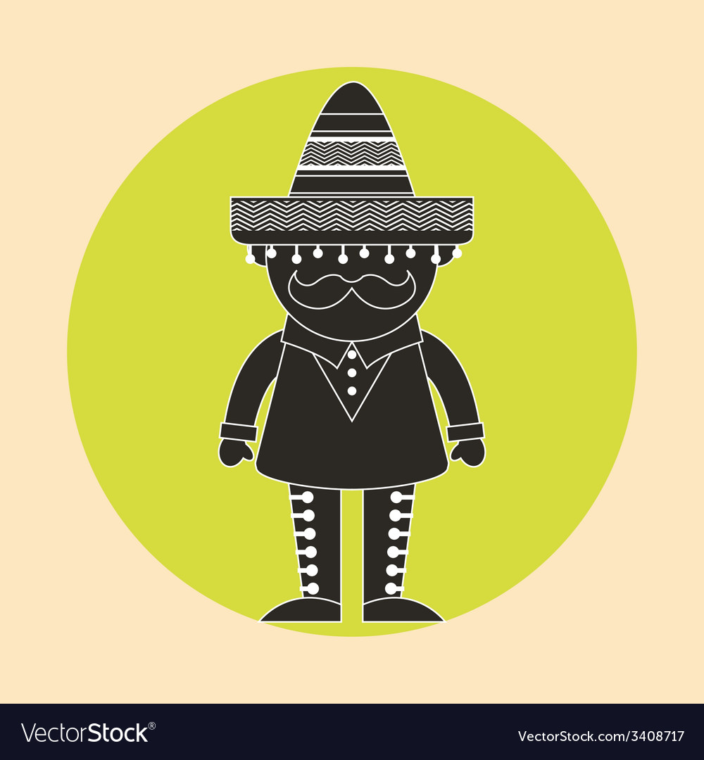 Mexican design vector | Price: 1 Credit (USD $1)