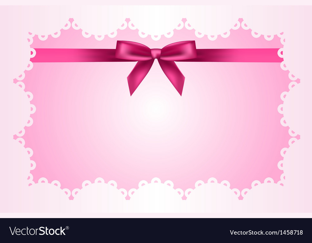 Baby pink frame vector | Price: 1 Credit (USD $1)