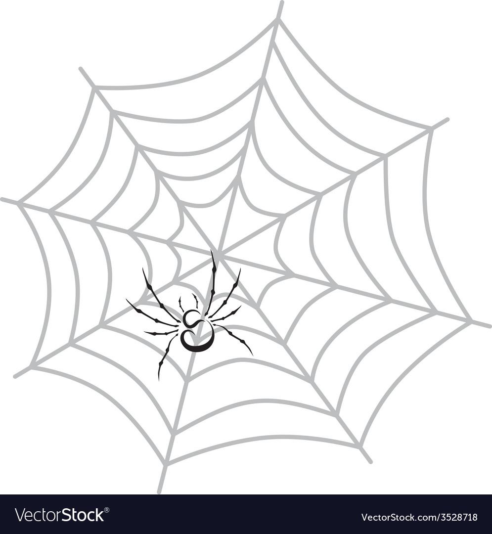 Color spiderweb art vector | Price: 1 Credit (USD $1)