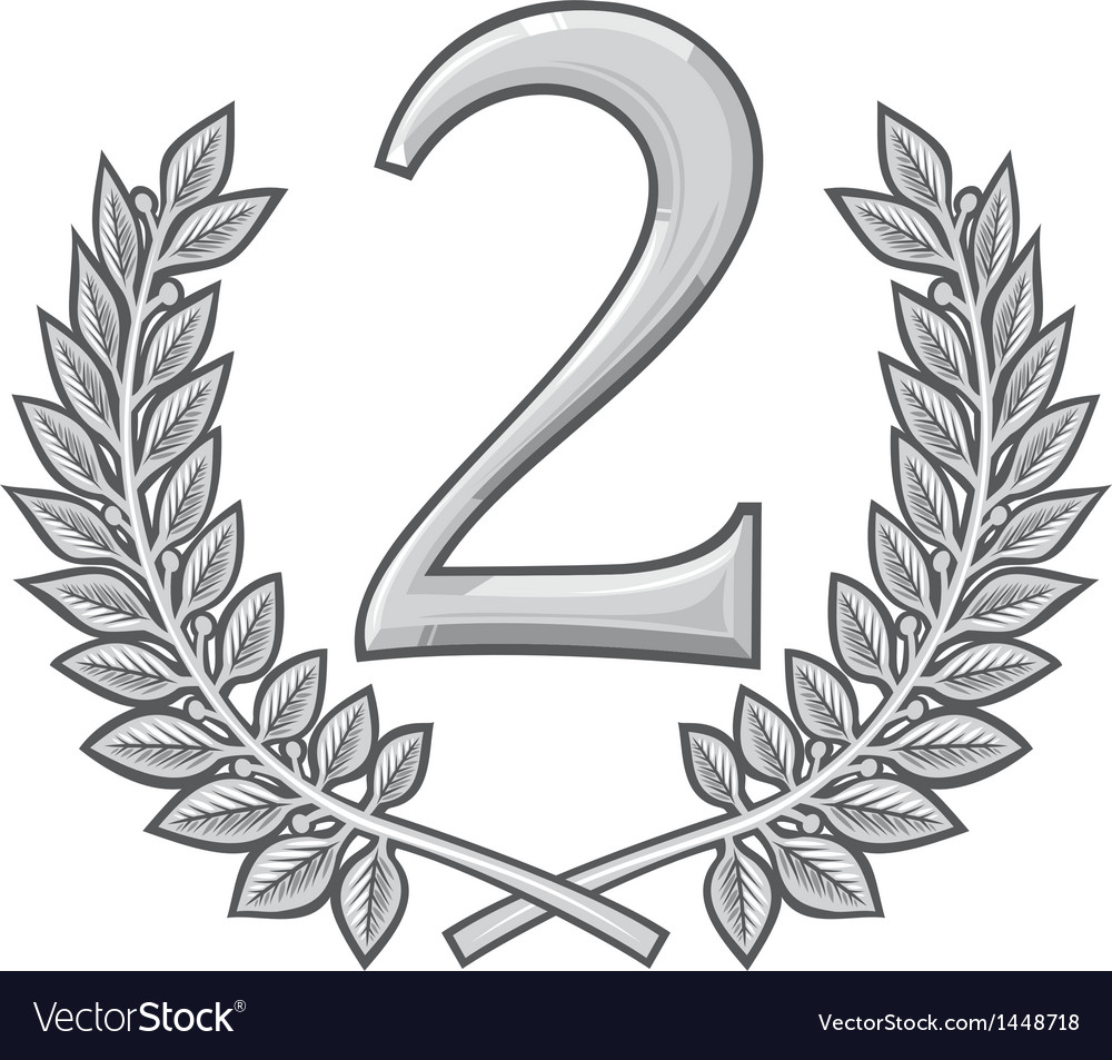 Second place 2 vector | Price: 1 Credit (USD $1)