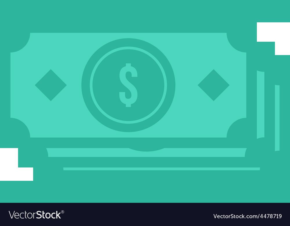 Dollar bills vector   Price: 1 Credit (USD $1)