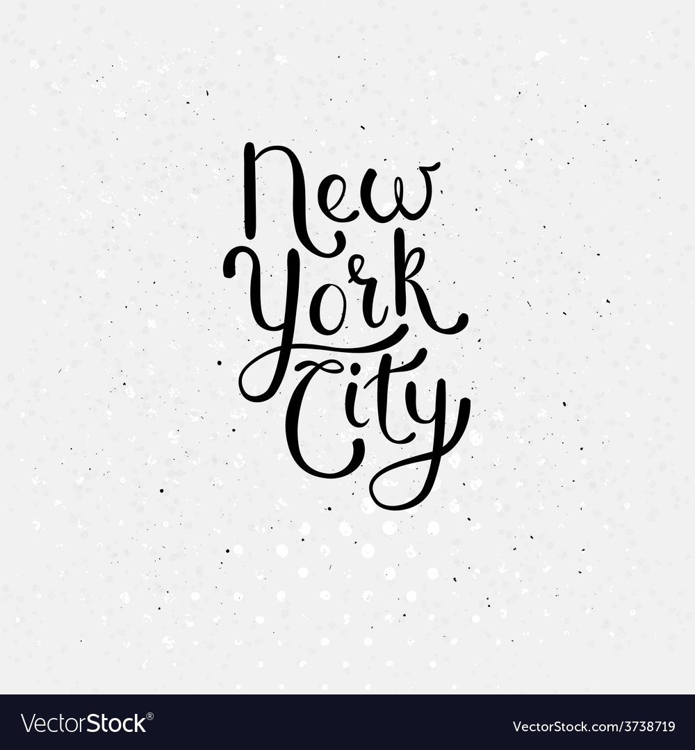 New york city concept on dotted white vector | Price: 1 Credit (USD $1)