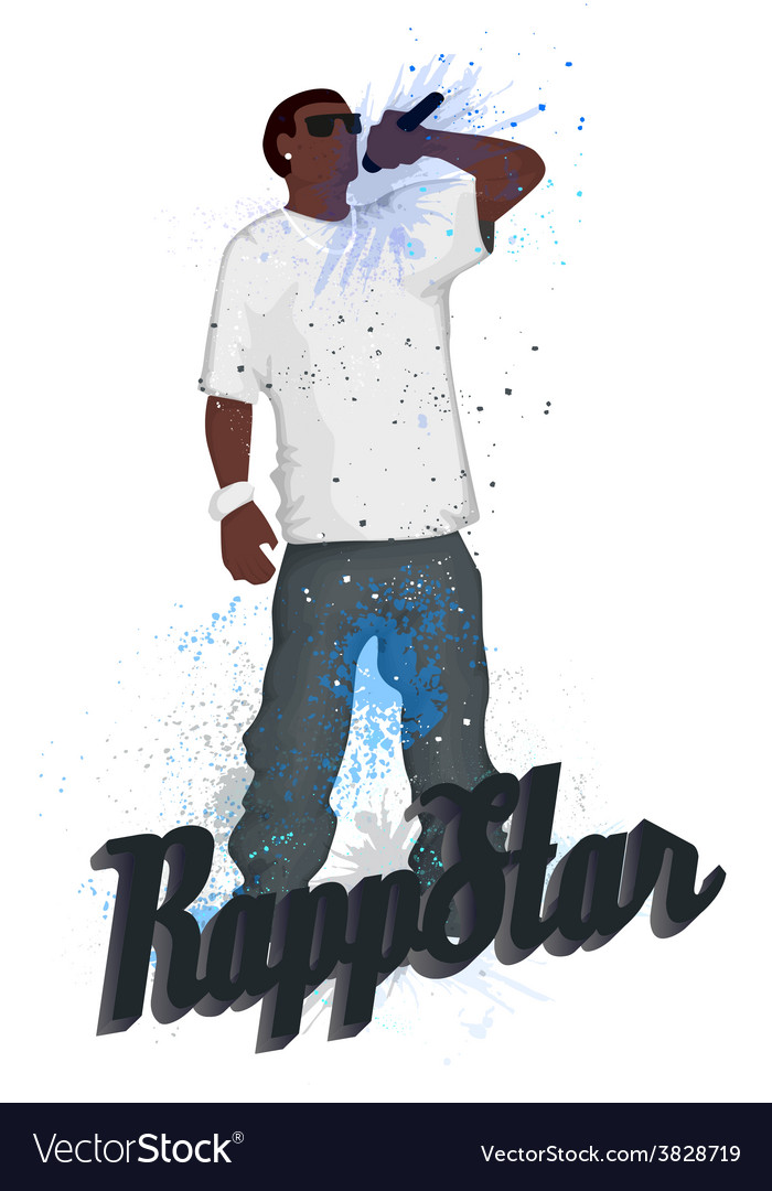 Rapper vector | Price: 1 Credit (USD $1)