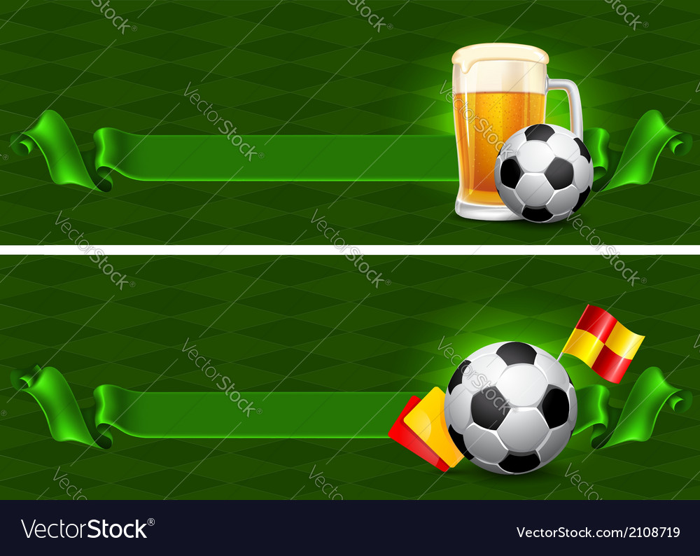 Soccer backgrounds vector | Price: 1 Credit (USD $1)