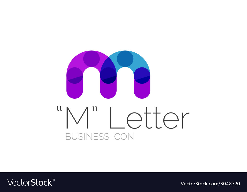 Minimal font or letter logo design vector | Price: 1 Credit (USD $1)