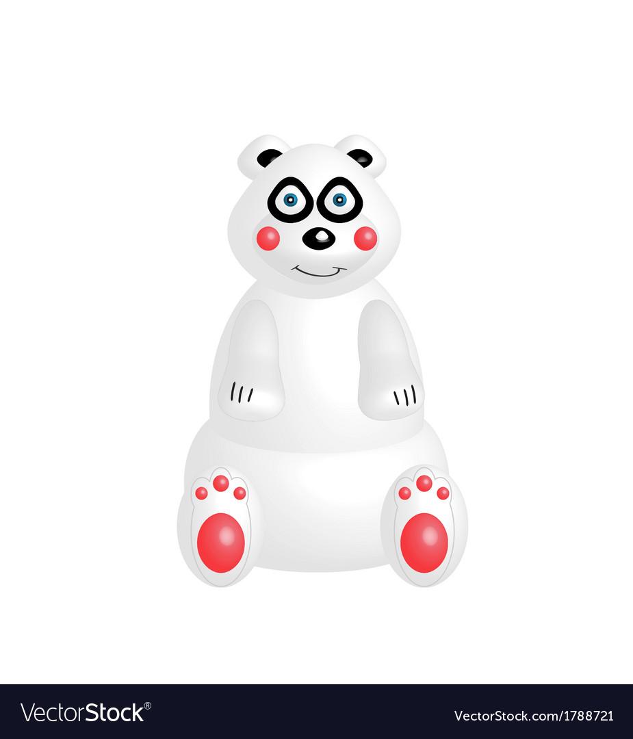 Bear 3d vector | Price: 1 Credit (USD $1)