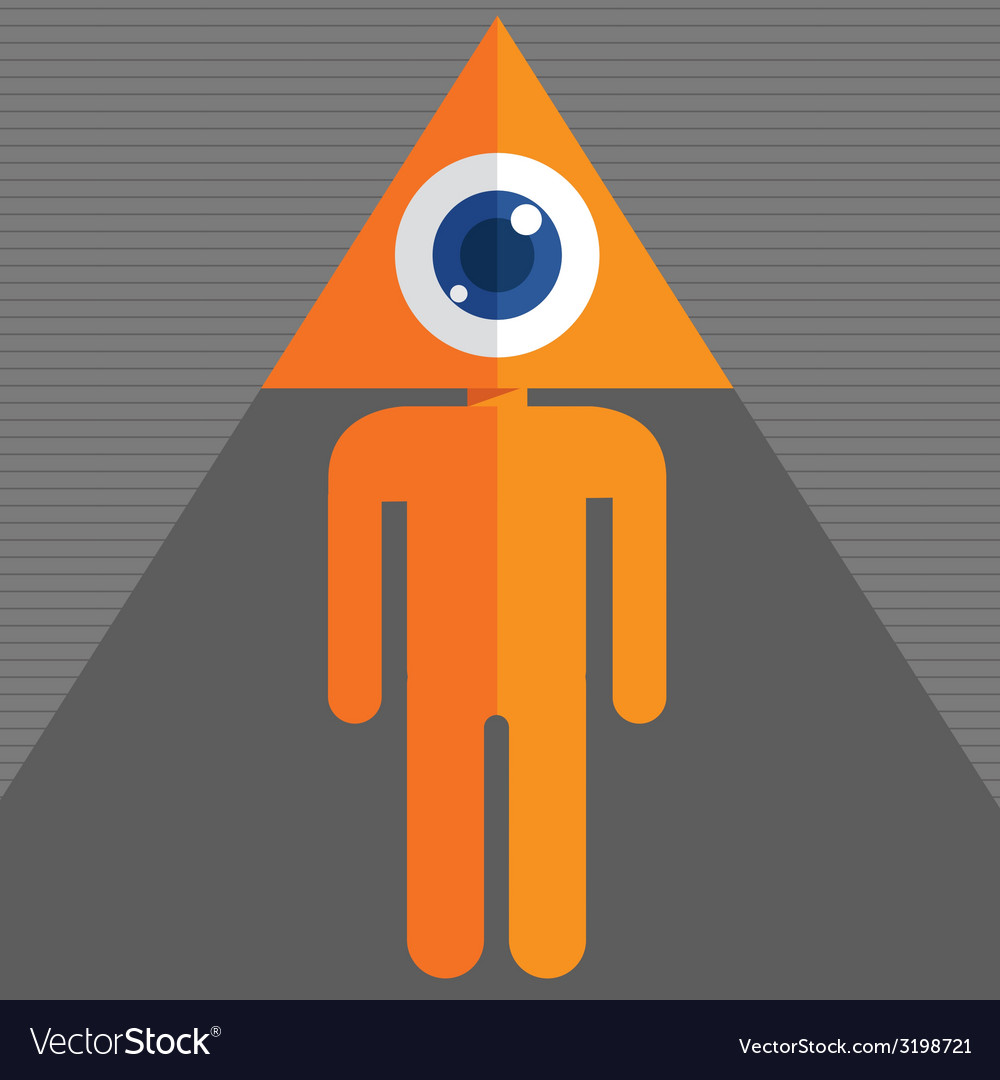 Triangleeye vector | Price: 1 Credit (USD $1)