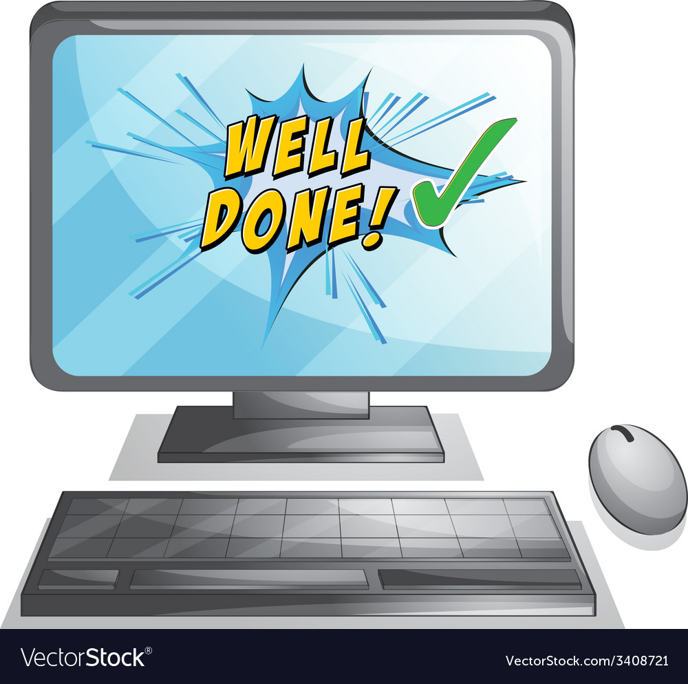 Well done vector | Price: 1 Credit (USD $1)