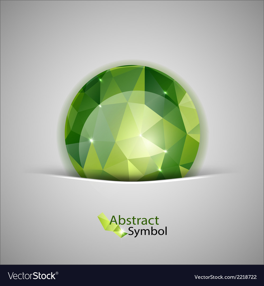 Green ball vector | Price: 1 Credit (USD $1)