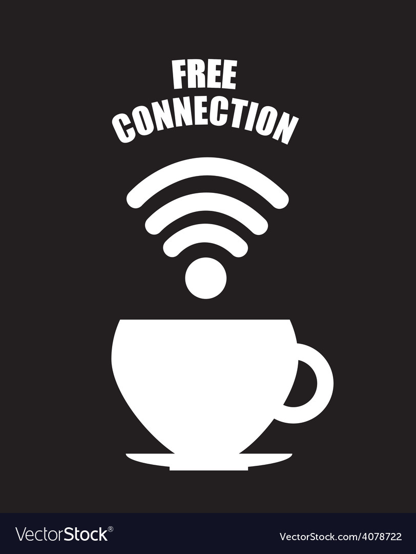 Wifi connection vector | Price: 1 Credit (USD $1)