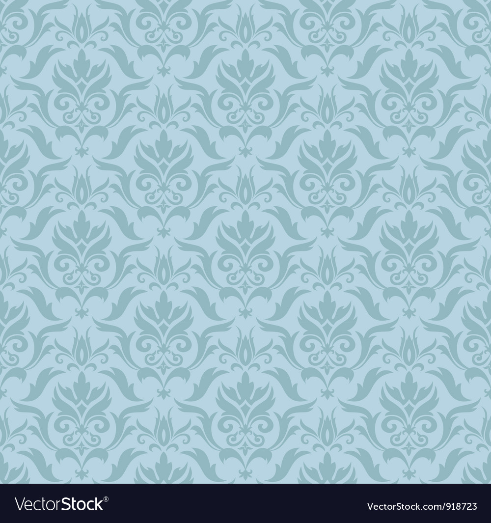 Seamless damask background vector | Price: 1 Credit (USD $1)