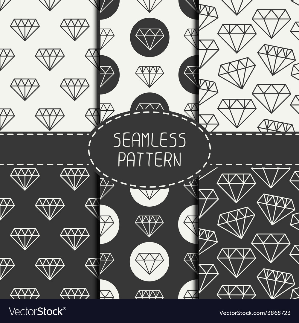 Set of monochrome hipster fashion geometri vector | Price: 1 Credit (USD $1)