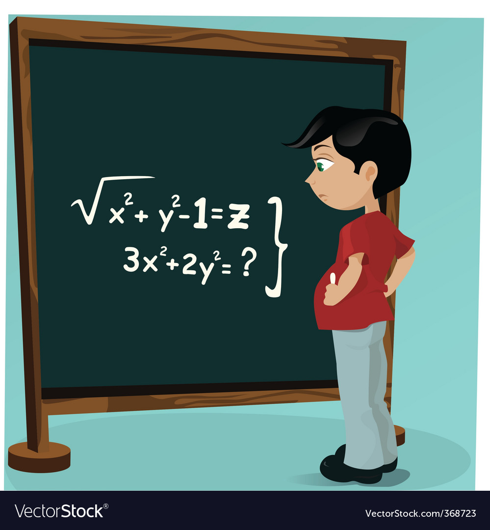 Student blackboard vector | Price: 1 Credit (USD $1)