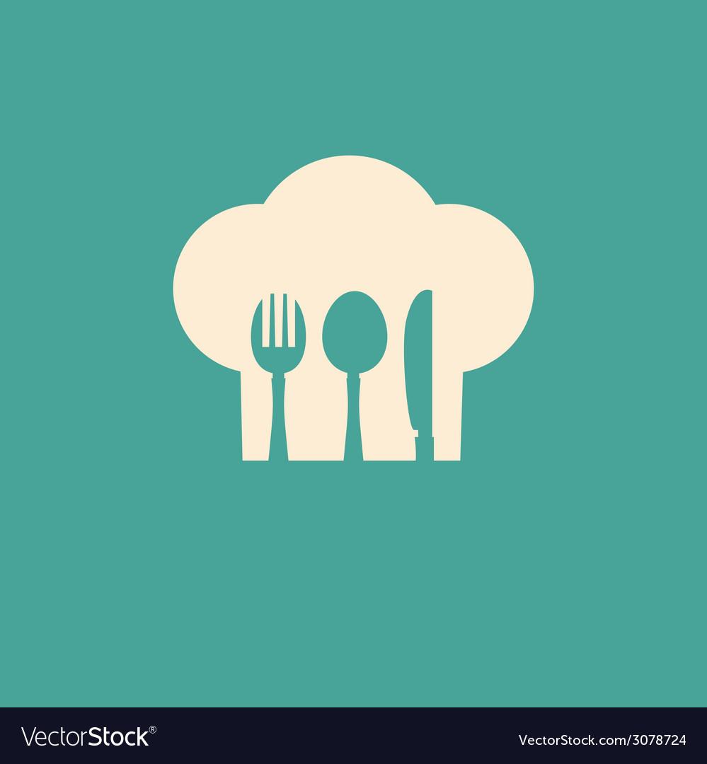Cutlery symbol vector | Price: 1 Credit (USD $1)