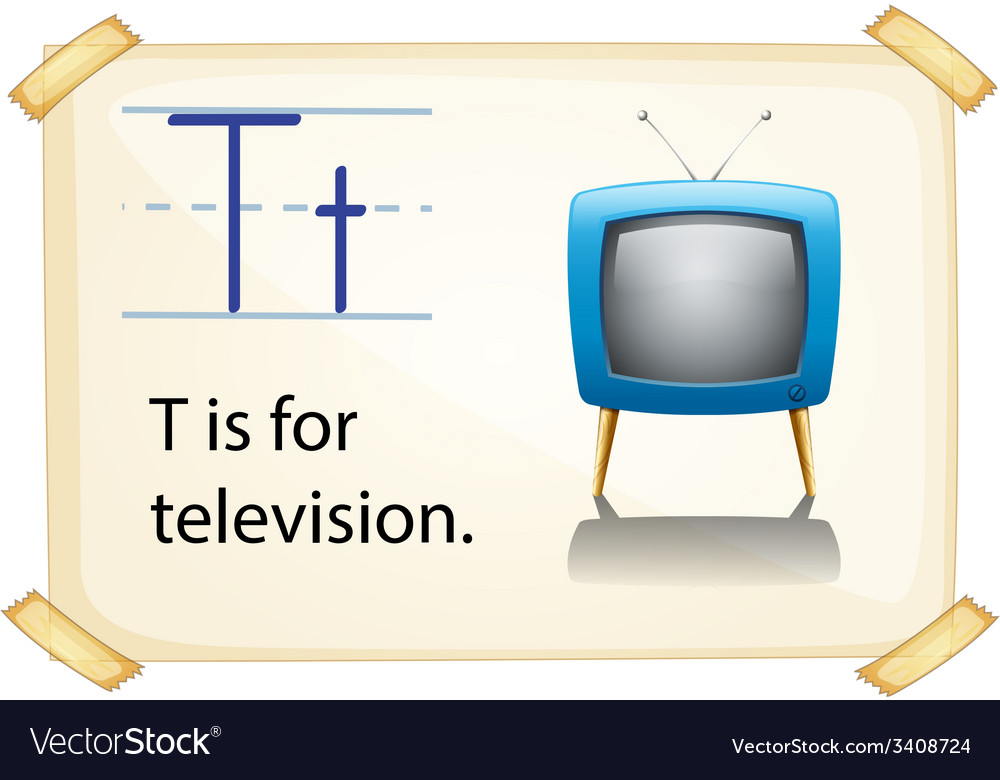 Letter t vector   Price: 1 Credit (USD $1)