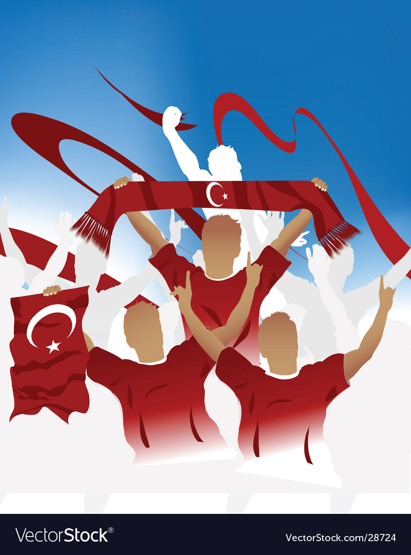 Turkish crowd vector | Price: 1 Credit (USD $1)