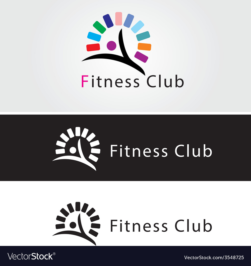 Fitness club vector | Price: 1 Credit (USD $1)