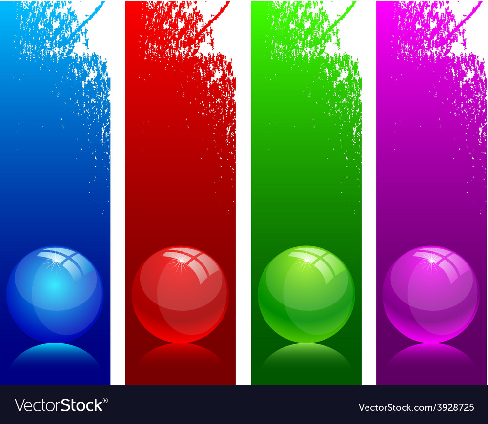 Glossy balls vector | Price: 1 Credit (USD $1)