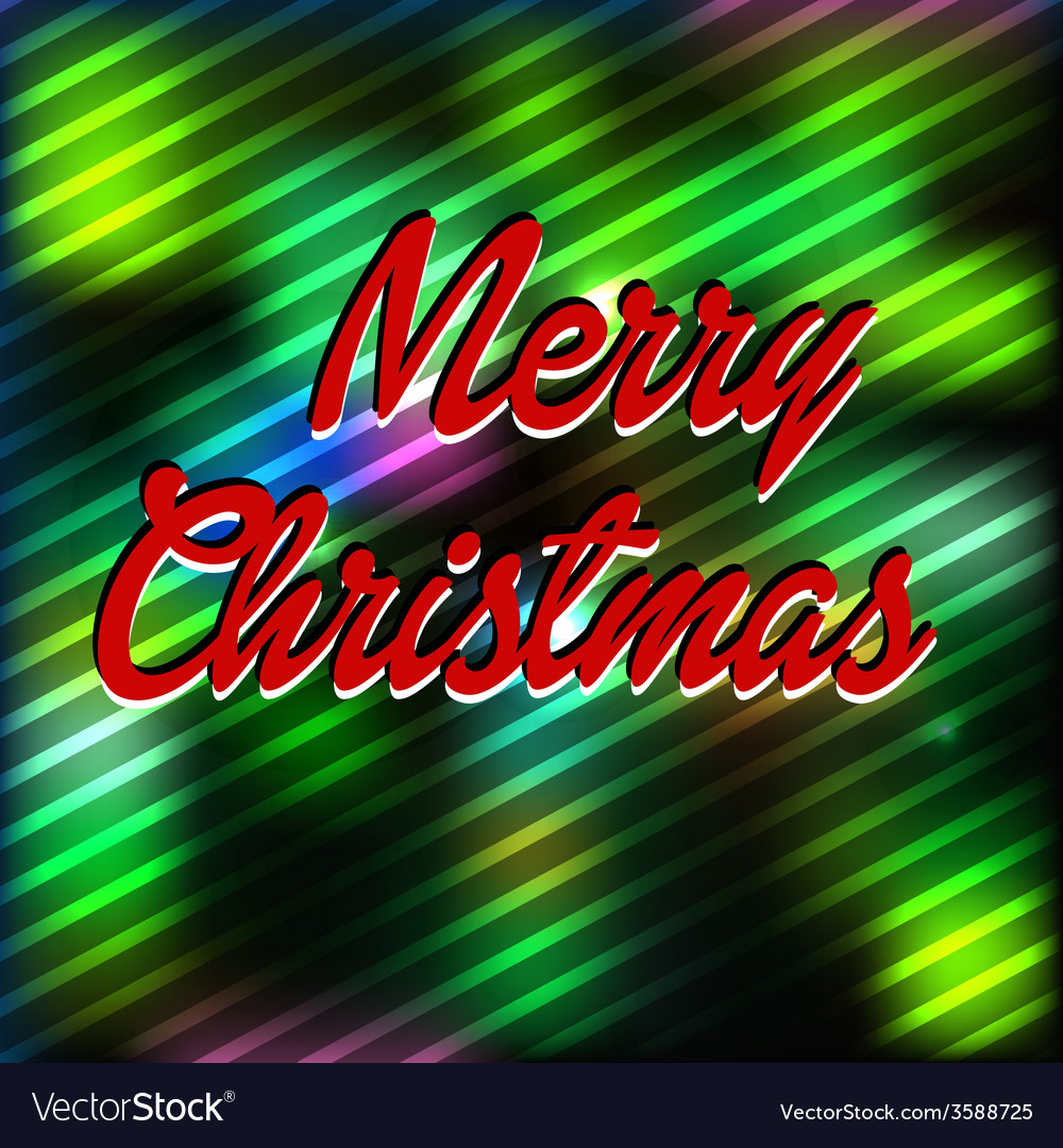 Merry christmas wool background vector | Price: 1 Credit (USD $1)