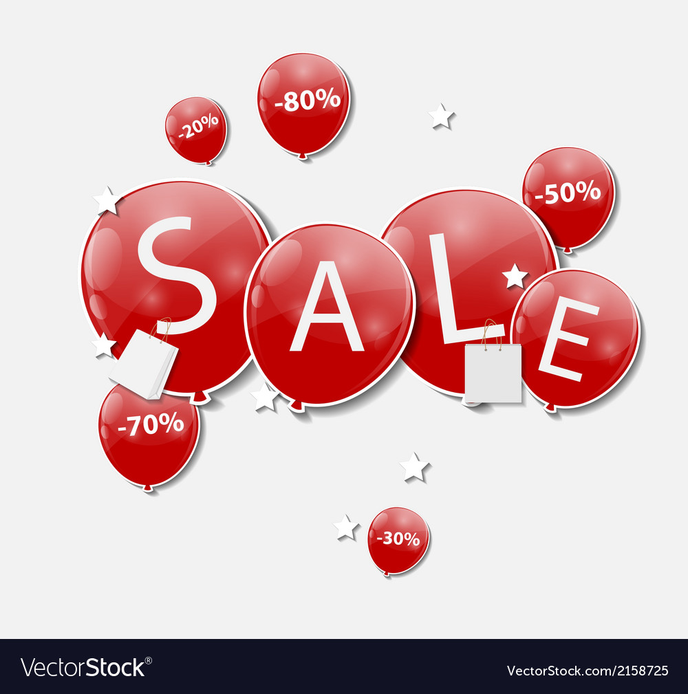 Sale concept of discount vector | Price: 1 Credit (USD $1)