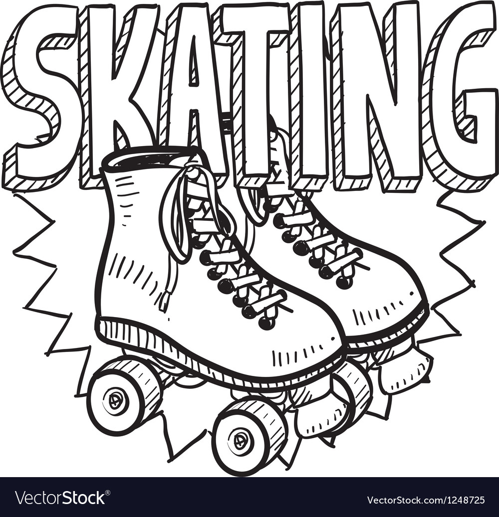 Skating vector | Price: 1 Credit (USD $1)