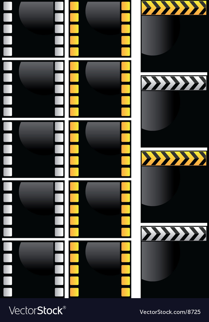 Video frame vector | Price: 1 Credit (USD $1)