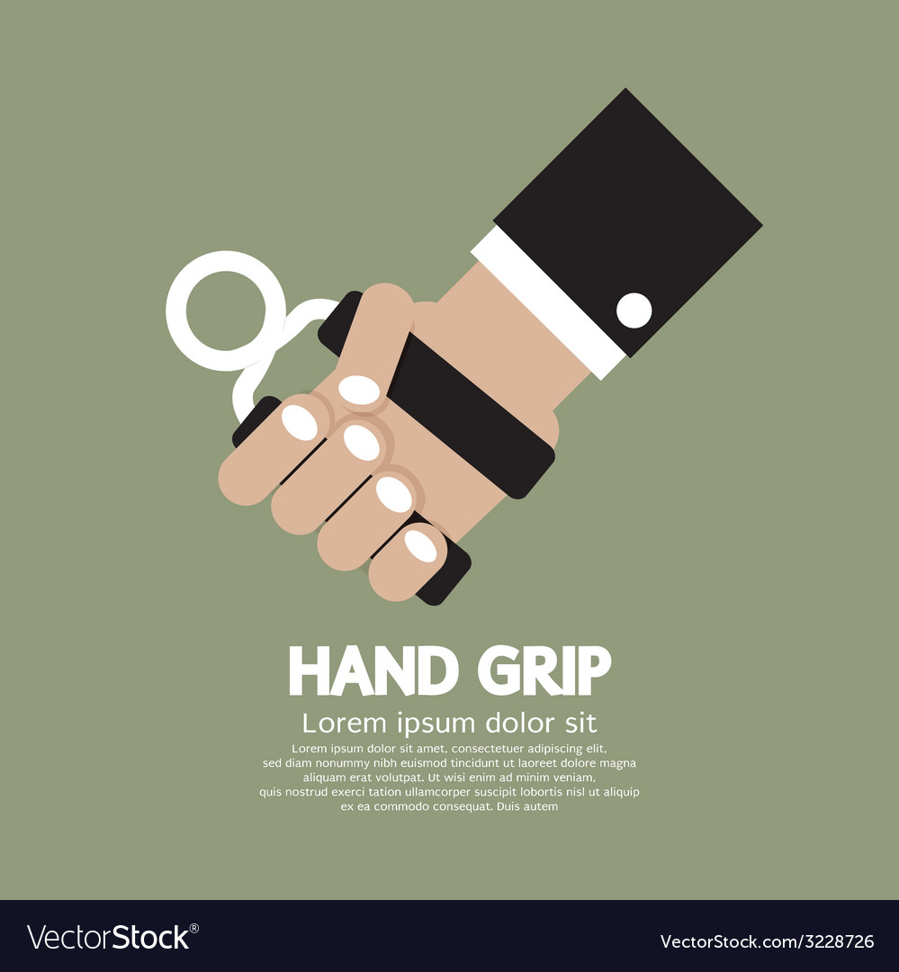 Hand grip graphic vector | Price: 1 Credit (USD $1)