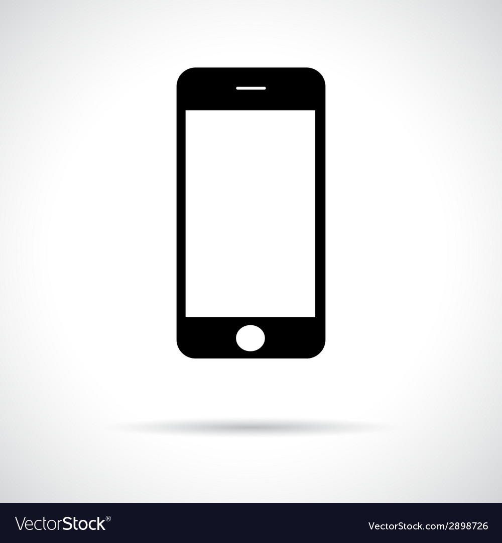 Mobile smart phone vector | Price: 1 Credit (USD $1)