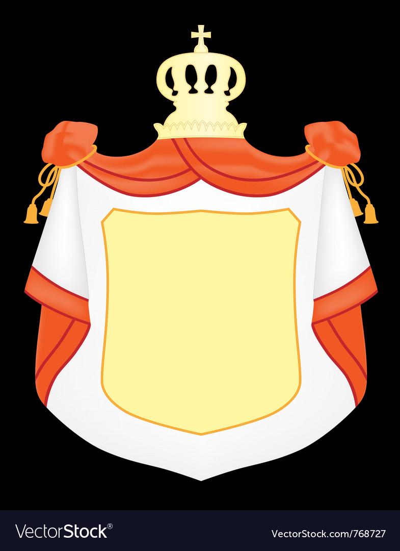 Empty coat of arms vector | Price: 1 Credit (USD $1)