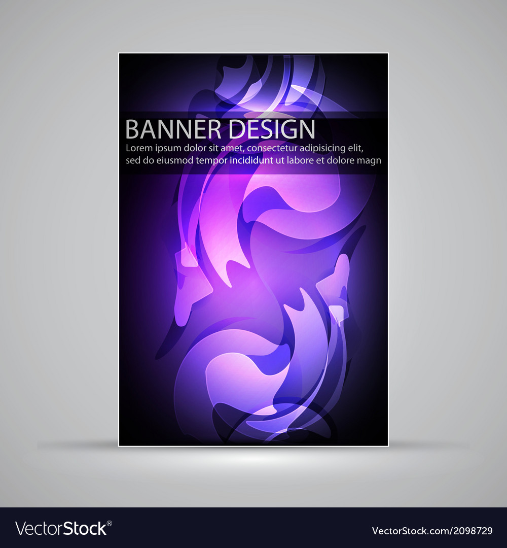 Banner design vector | Price: 1 Credit (USD $1)