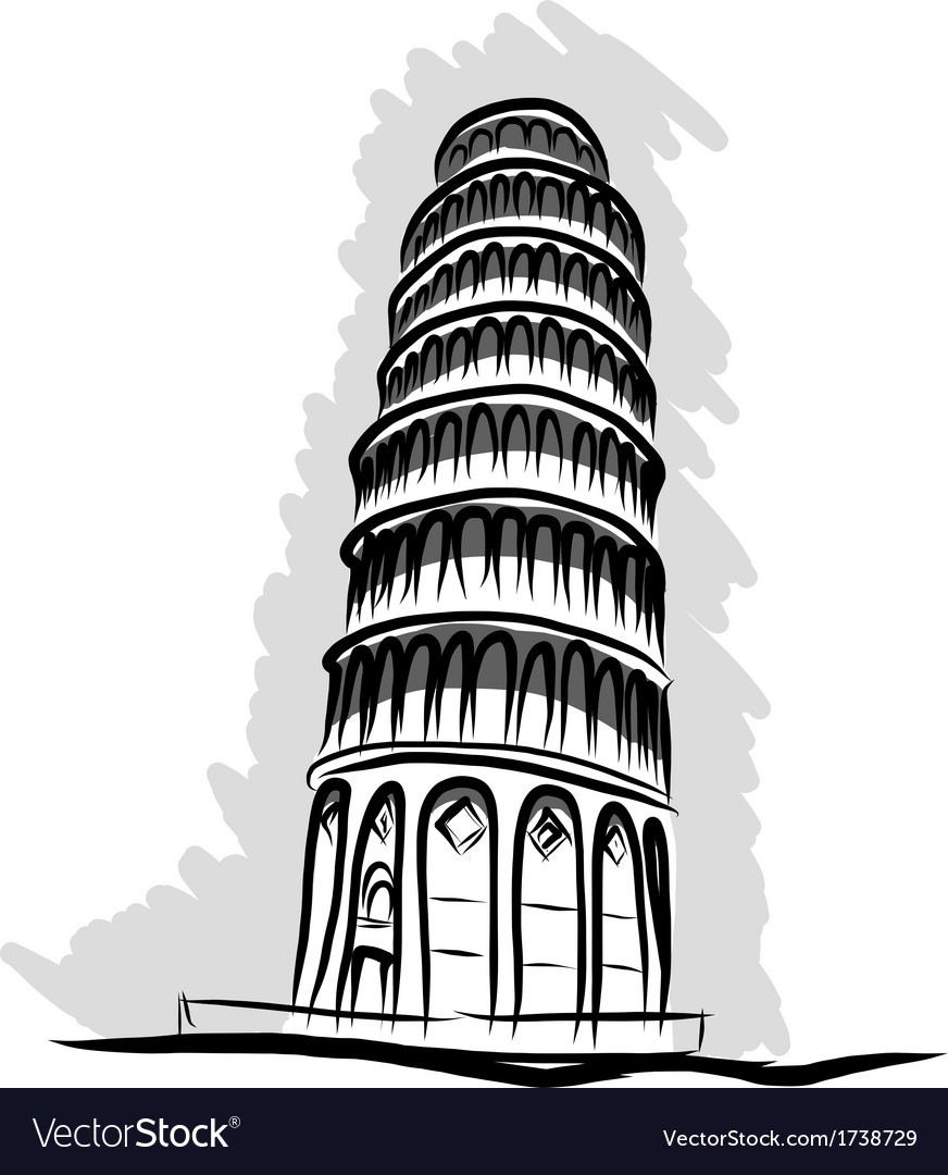 Pisa vector | Price: 1 Credit (USD $1)