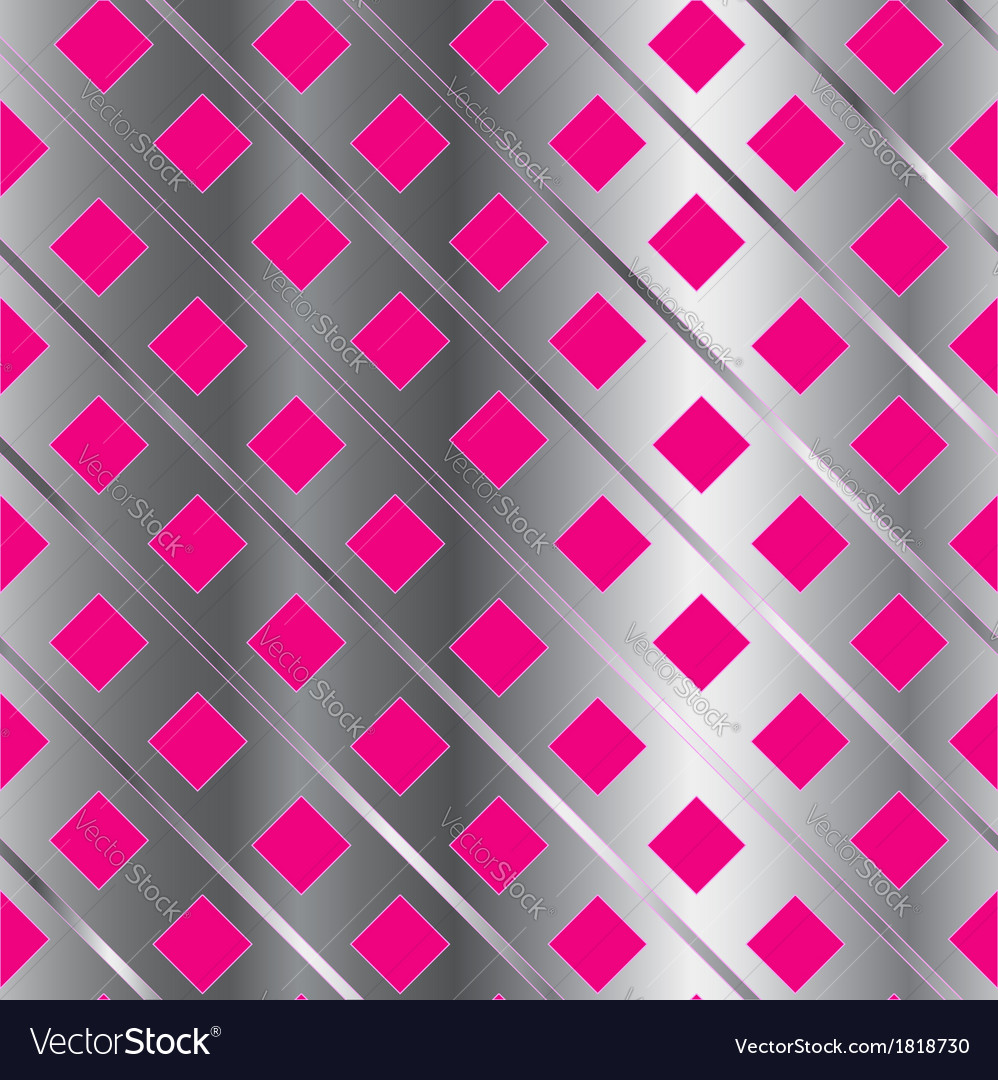 Background with pink squares vector | Price: 1 Credit (USD $1)