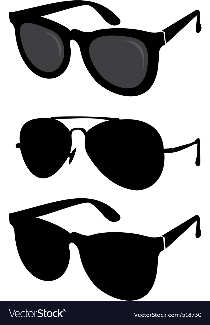 Classical and sport sunglasses vector | Price: 1 Credit (USD $1)
