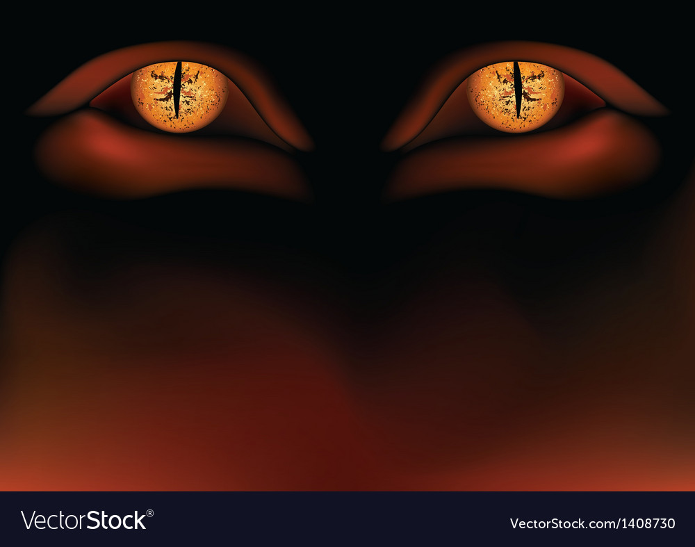 Demon eyes vector | Price: 1 Credit (USD $1)