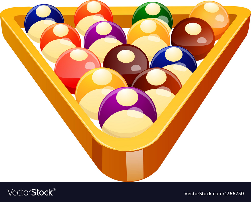 Icon pool ball vector | Price: 1 Credit (USD $1)