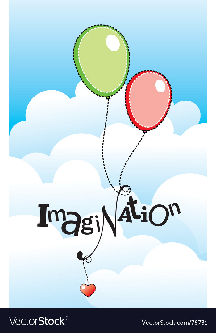 Imagination vector | Price: 1 Credit (USD $1)