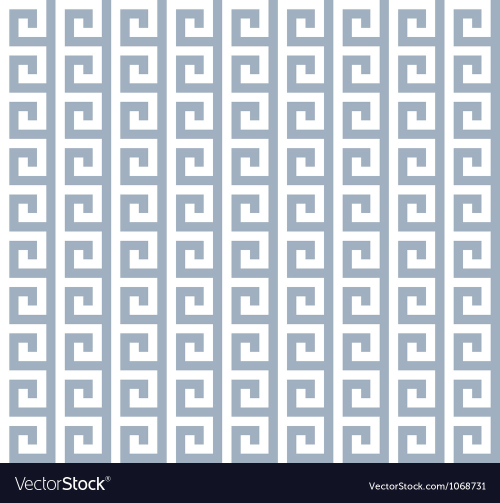 Seamless greece pattern vector | Price: 1 Credit (USD $1)