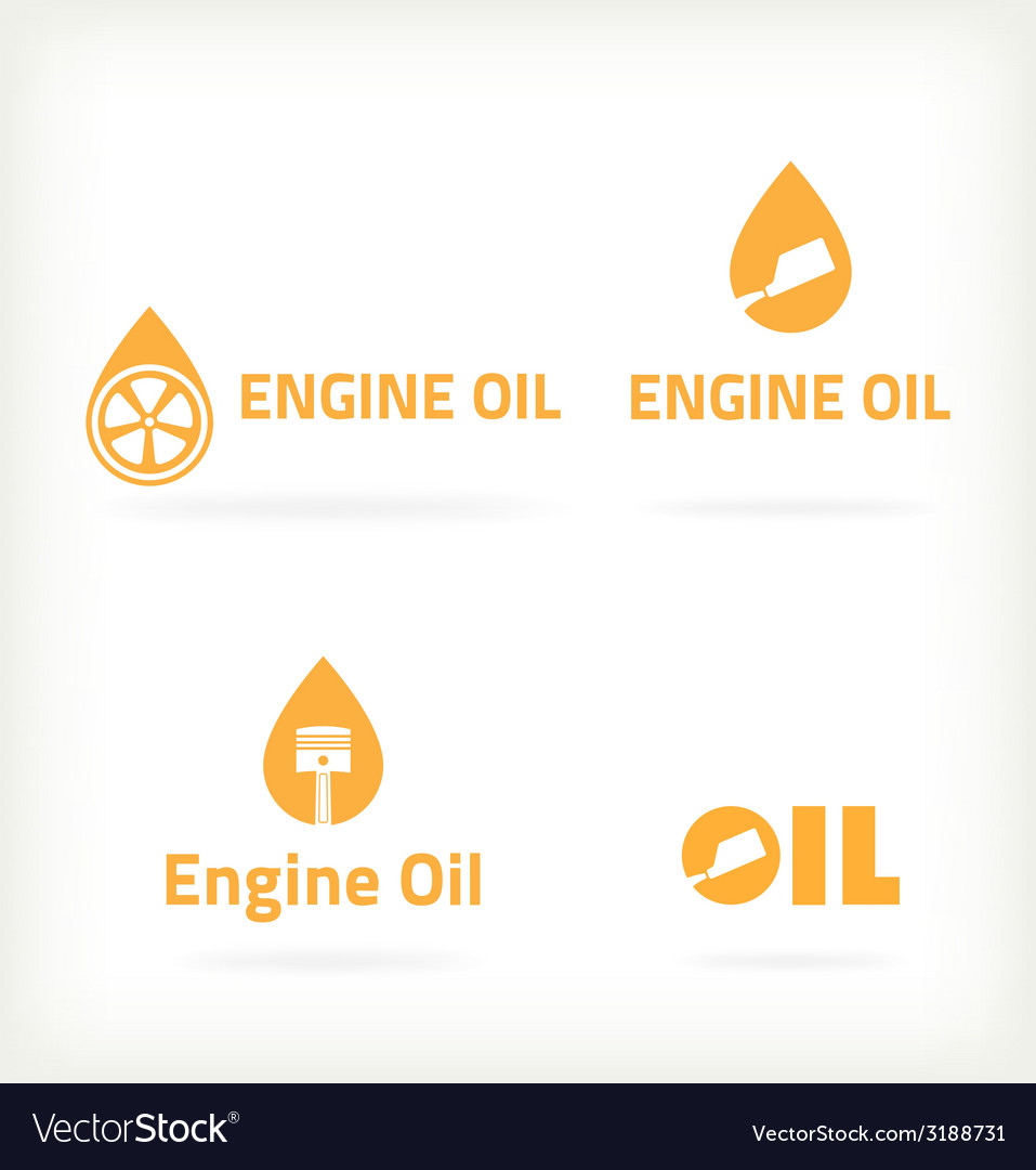 Three characters selling motor oil vector | Price: 1 Credit (USD $1)