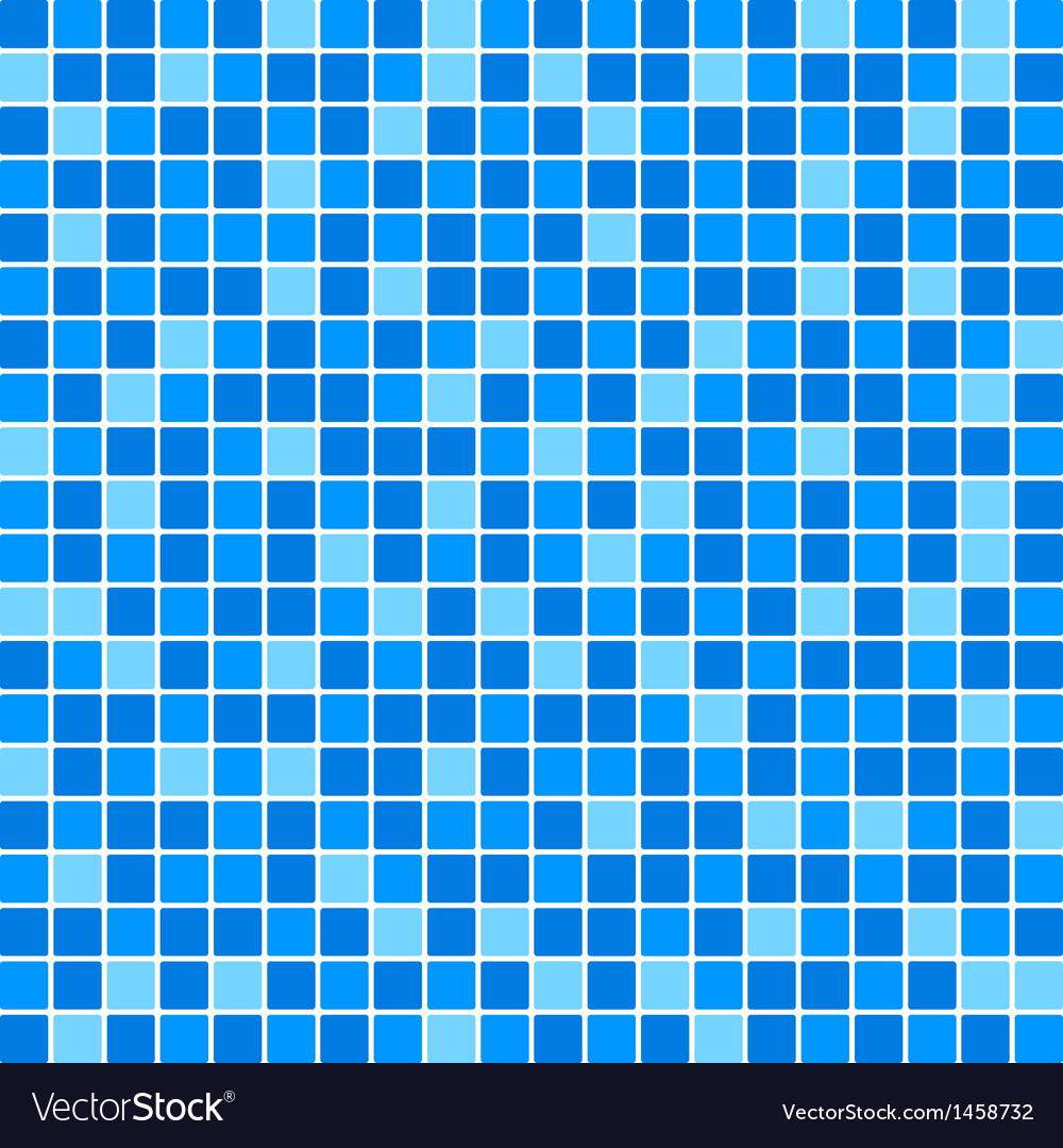 Blue tile wall vector | Price: 1 Credit (USD $1)
