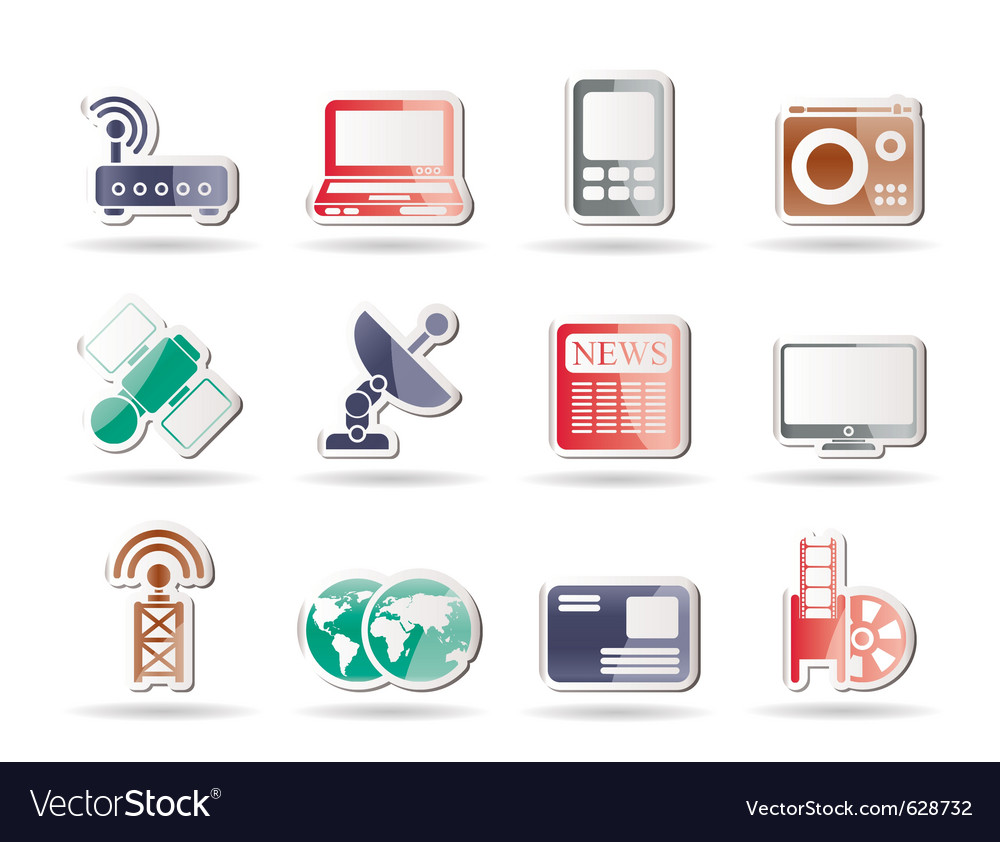 Business and technology icons vector | Price: 1 Credit (USD $1)